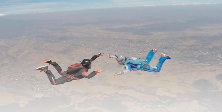 Curso AFF paracaidismo en México