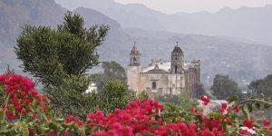 Catedral de Tepoztlán Morelos
